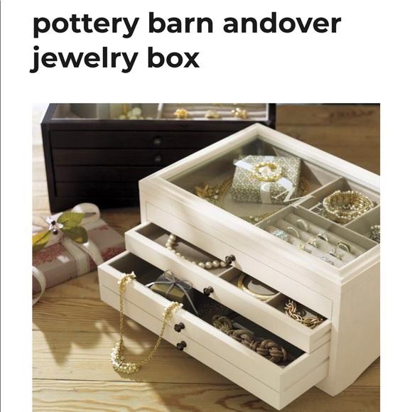Pottery Barn Andover Jewelry Box